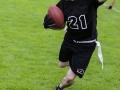 Spieler läuft mit Ball